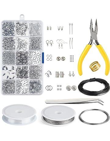 Kuuqa Jewelry Making Kit Resultados de la joyería Kit de inicio Joyas Rebordear Kit de herramientas