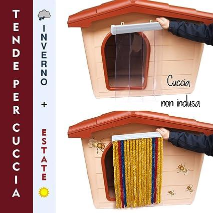 Cortina para caseta Invierno + Verano Tamaño L 60 x 90 h