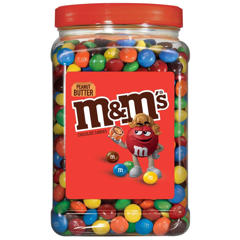 M&M's Peanut Butter Candies, 55 Oz.,, ()