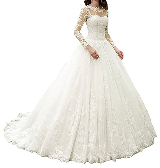 559abbe057 APXPF Women s Wedding Dress Bride Gowns  Amazon.co.uk  Clothing