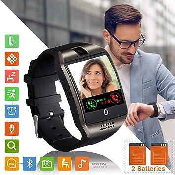 Tipmant Reloj Inteligente Mujer Hombre Smartwatch Pantalla táctil ...