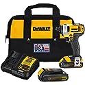 "Dewalt DCF885C2 20V MAX Lithium Ion 1/4"" Impact Driver Kit"