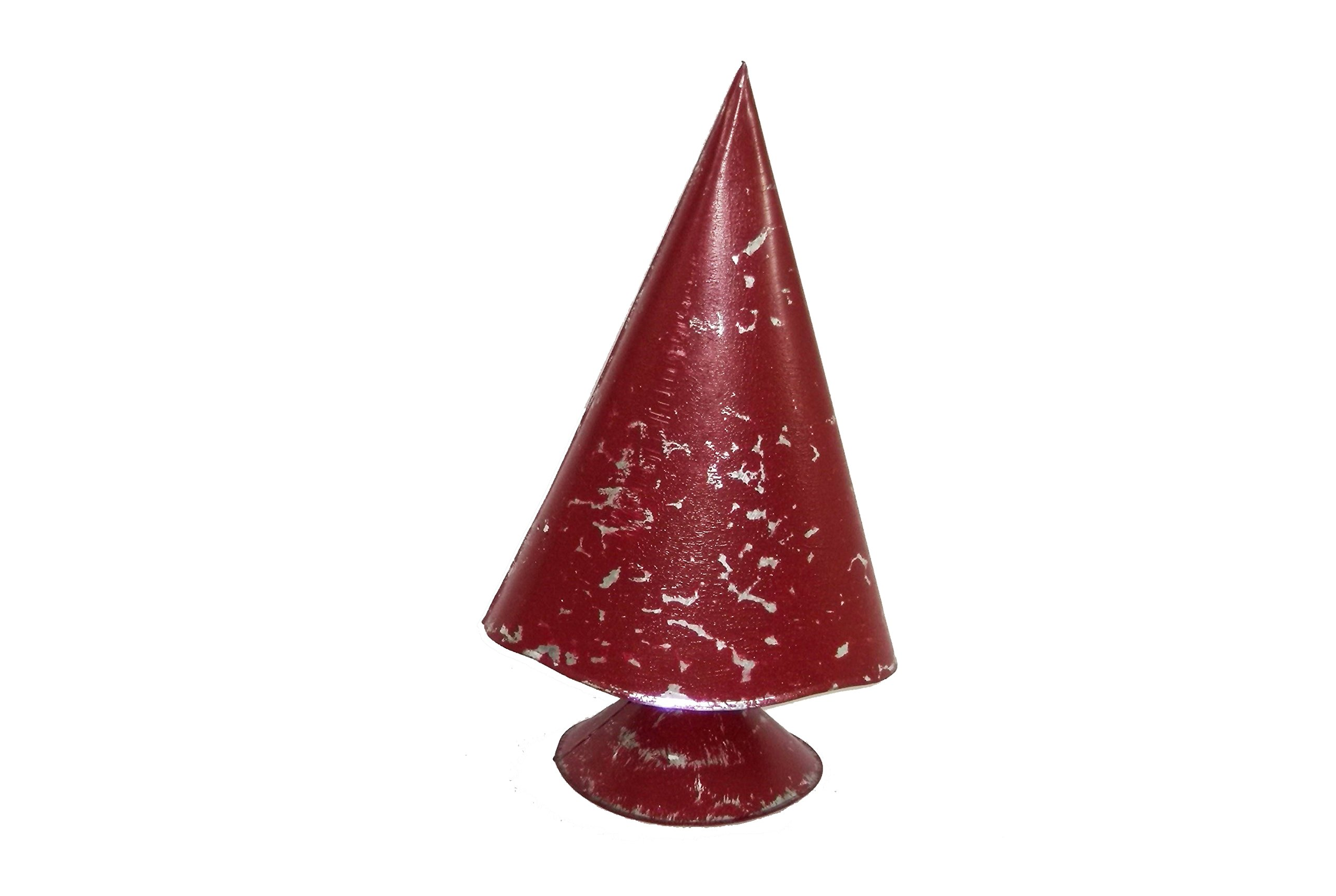 Medium Red Metal Christmas Tree by Heart of America