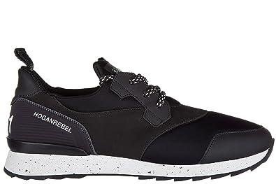 Chaussures baskets sneakers homme en cuir Hogan 4b1rSc