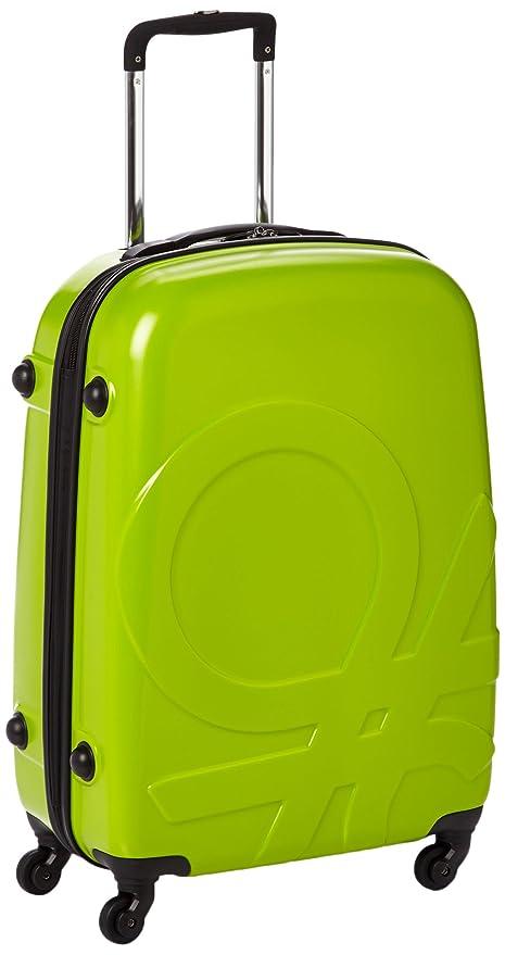Benetton Maleta, Vert (001) (Verde) - 73332_001: Amazon.es ...