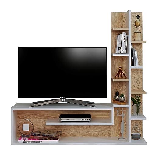 Pannello Porta Tv Orientabile Ikea.Homidea Glory Set Soggiorno Parete Attrezzata Mobile Tv Porta