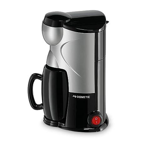 Dometic PerfectCoffe MC 01 - Cafetera de 12 V para una taza Dometic, con conector para mechero