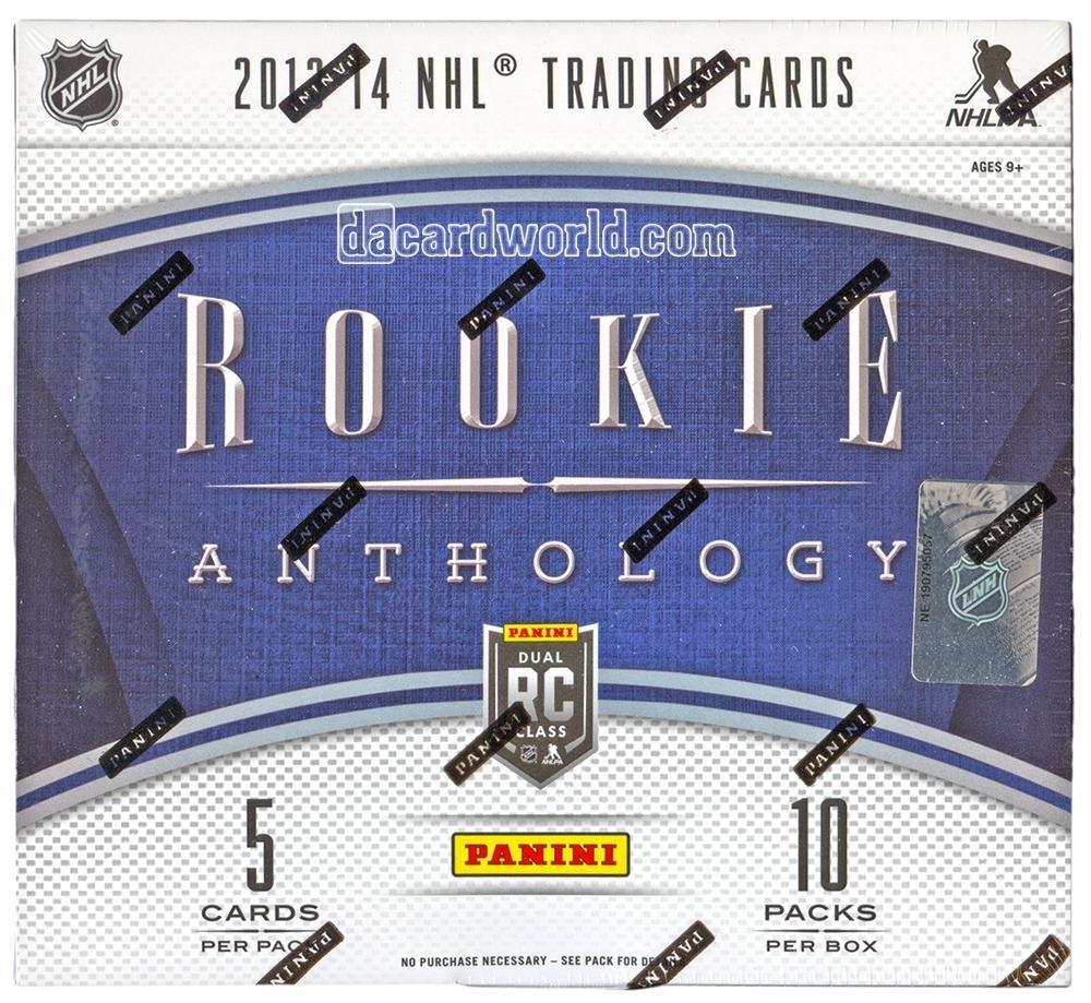 2013/14 Panini Rookie Anthology Hockey Hobby Box NHL