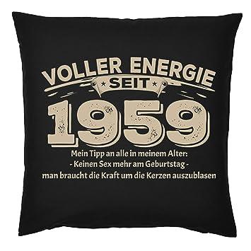 Tini Shirts 60 1959 Sprüche Kissen Zum 60 Geburtstag
