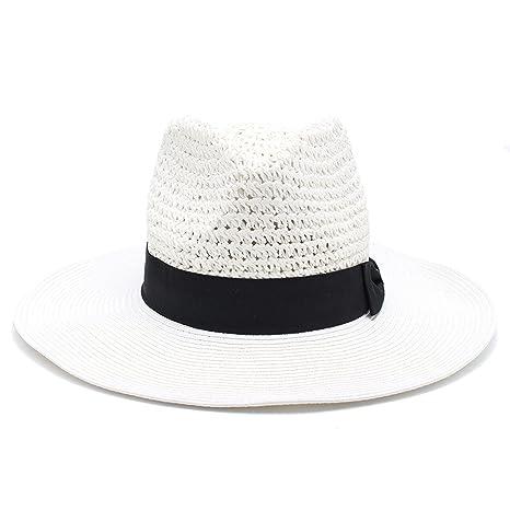 2018 verano europeo y americano de la moda ganchillo jazz hat ...
