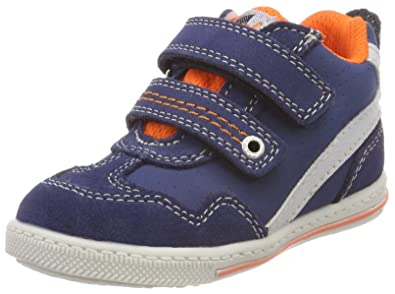 Lurchi Unisex-Kinder Brucy Stiefel, Blau (Blue), 20 EU