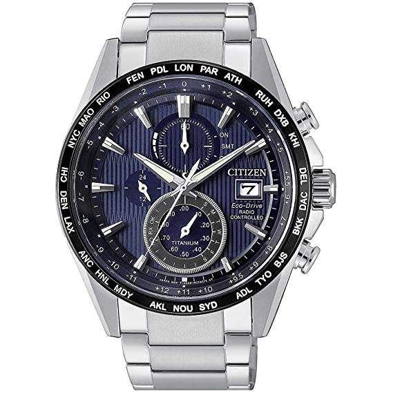 Citizen - Reloj H800 de supertitanio radiocontrolado, AT8154-82L: Amazon.es: Relojes