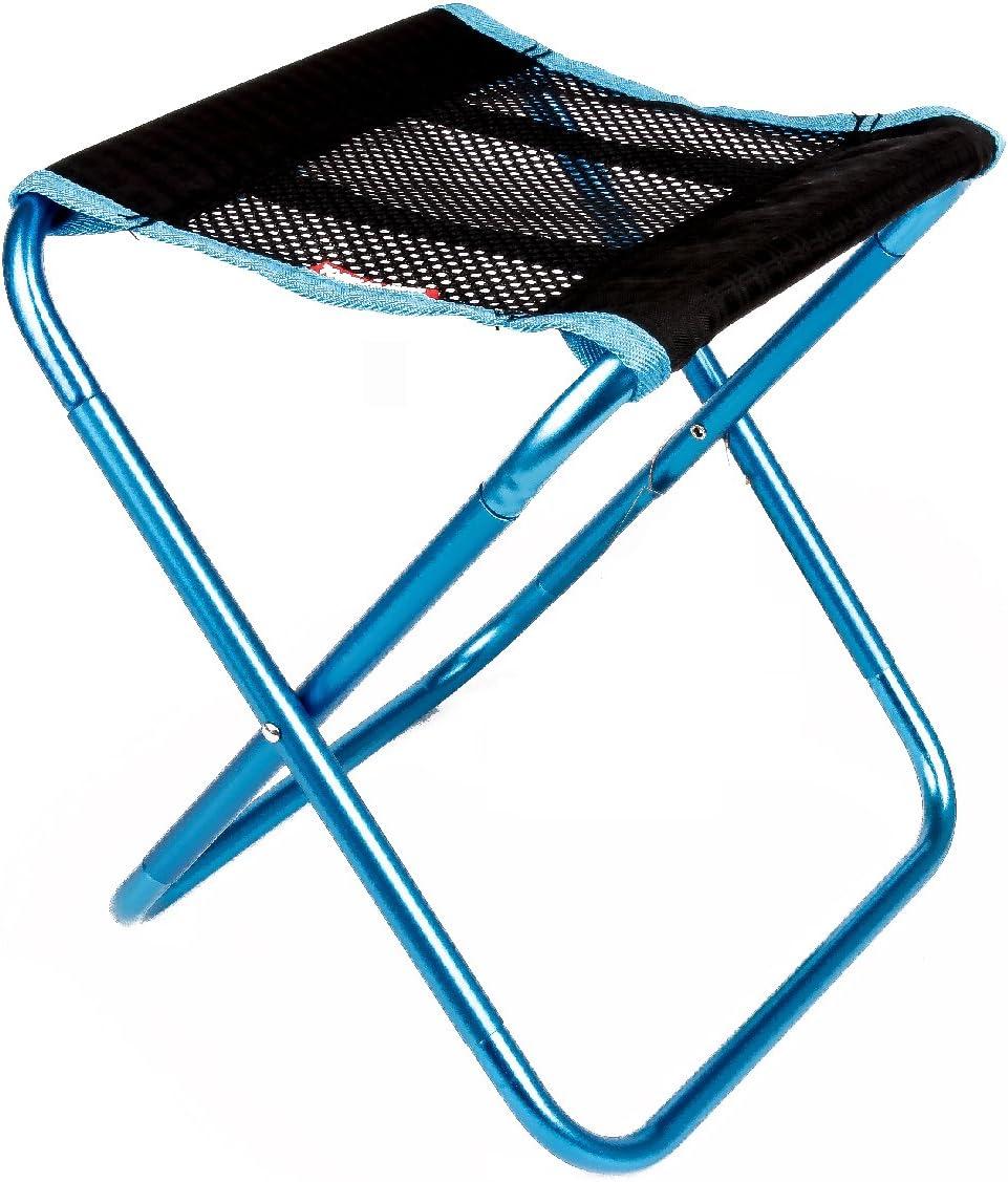 TRIWONDER Mini Tabouret Pliant Portable Chaise de Plage Pliable Tabouret Camping Chaise de Pêche avec Sac de Transport pour Randonnée Jardin BBQ