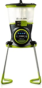 Goal Zero Lighthouse Mini Rechargeable Lantern with USB Power Hub, 250 Lumens, Dimmable