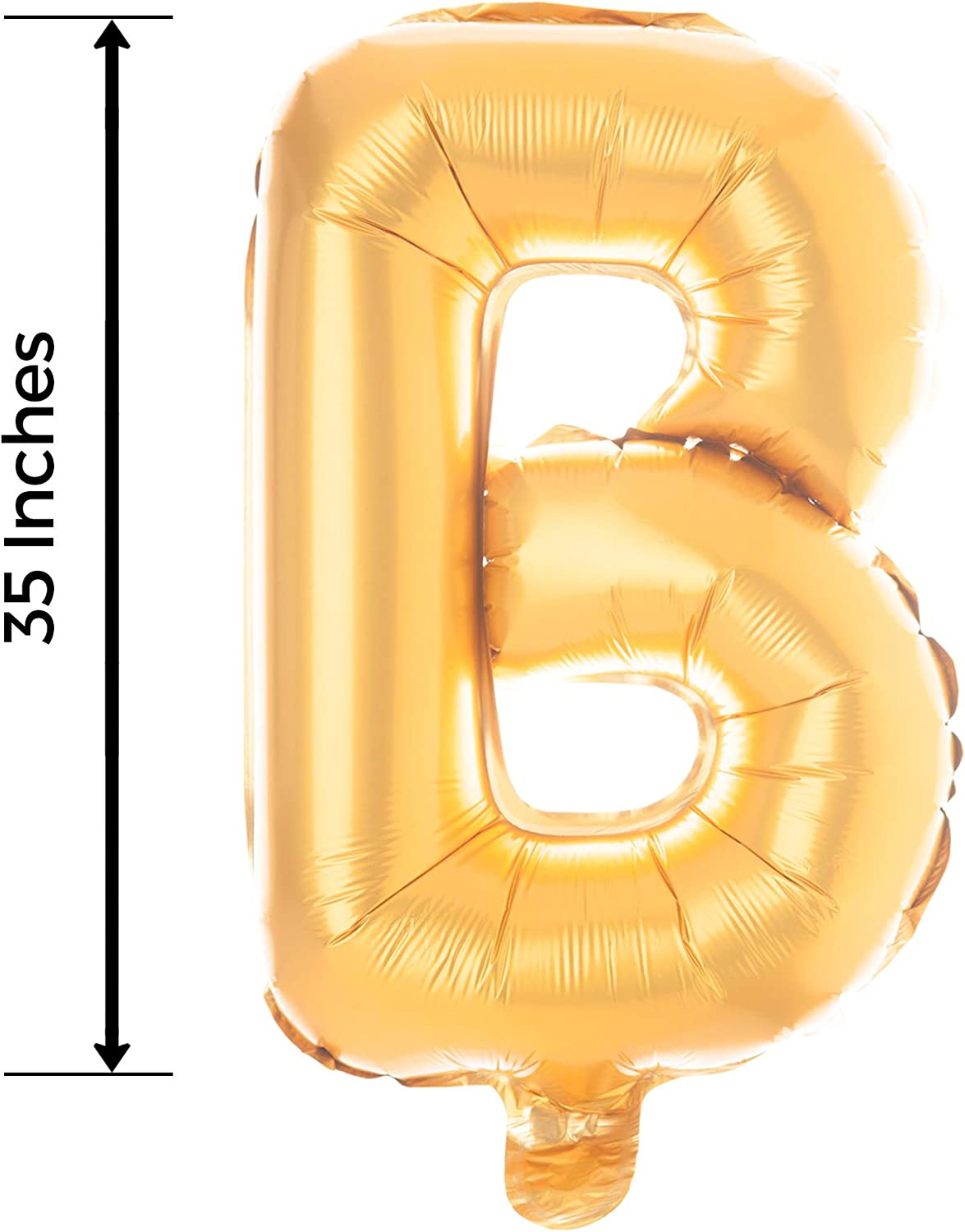 13 Inch Gold Ella Celebration Non-Floating Love Letter Balloons Party Decorations Gold Foil Wedding Engagement Valentines Day