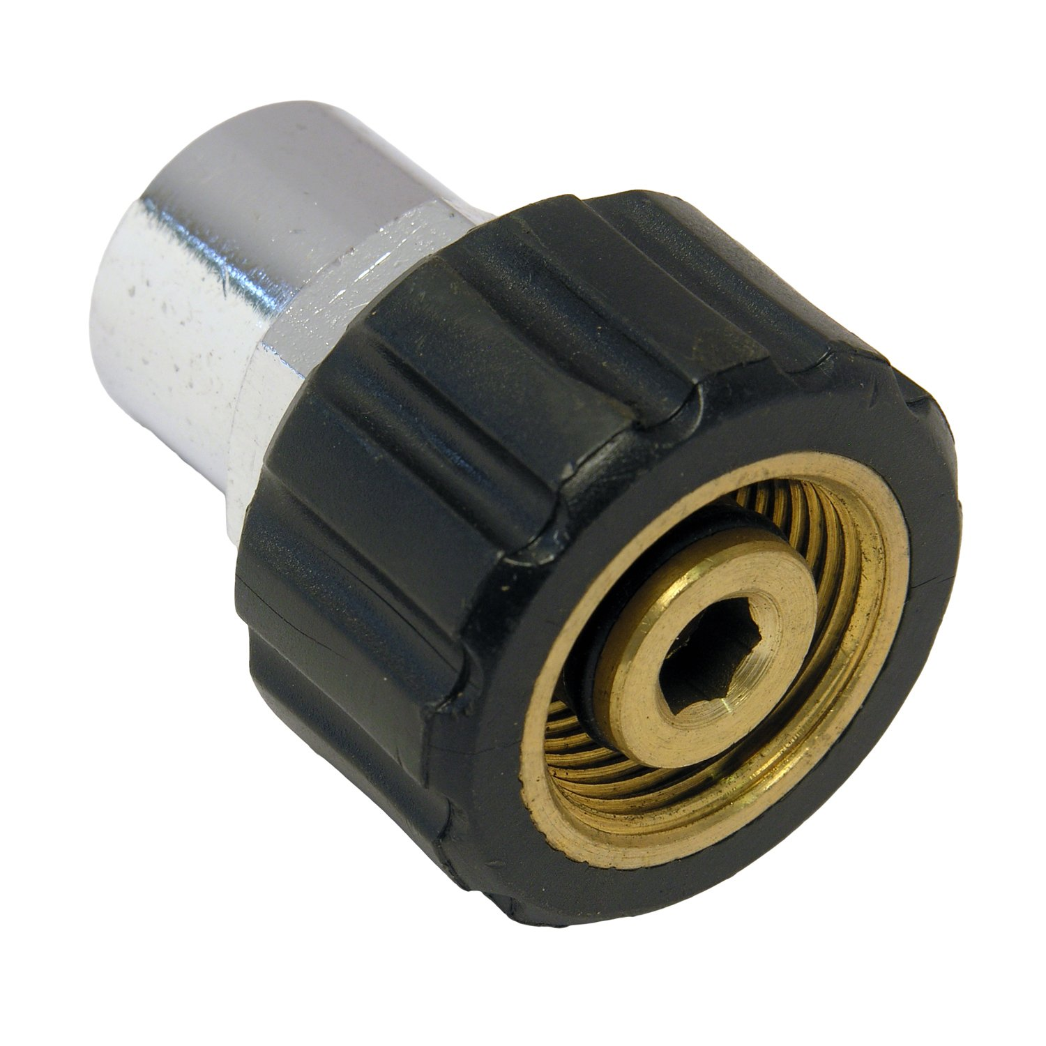 LASCO 60-1027 Coupler for Pressure Washer, Female 22mm Coupler, 3/8-Inch Female Pipe Thread by LASCO