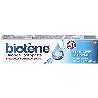 Biotene Fresh Mint Original Fluoride Toothpaste, 4.3 ounce