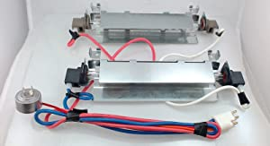 WR51X442 Refrigerator Defrost Heater Kit REPAIR PART FOR GE, AMANA, HOTPOINT, KENMORE AND MORE (Original Version)