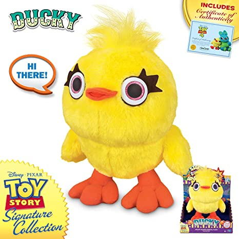 Toy Story 4 - Deluxe Talking Ducky