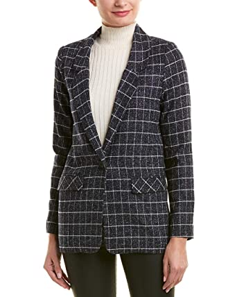 ad8b3bd48d8fc FRNCH Womens Louka Blazer, S, Blue at Amazon Women's Clothing store: