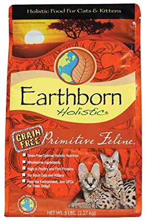 Earthborn Integral Primitive Feline, Comida para gatos - 2,73 kg: Amazon.es: Productos para mascotas