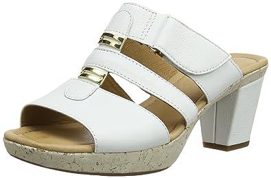 Les sandales en cuir nappa souple Gabor marron MQ1JCfk