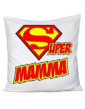Cojín El Día De La Madre - Super Madre - (algodón by ...