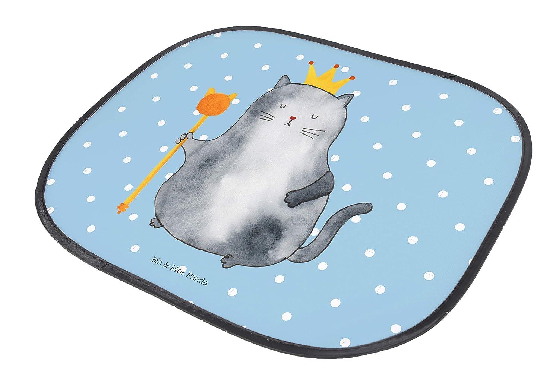Mr Auto Sonnenschutz Katzen Koenig Fenster Farbe Blau Pastell /& Mrs Panda Auto