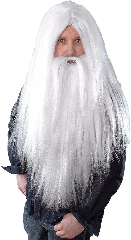 White Wizard Fancy Dress Beard