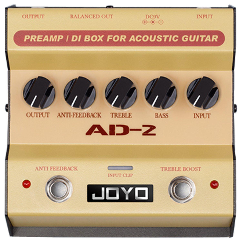 Joyo AD-2 Pre amp DI Box for Acoustic Guitar by Joyo Audio