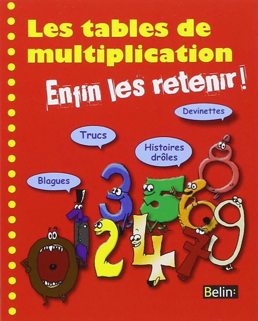 Tables De Multiplication Enfin Les Retenir Les Amazon