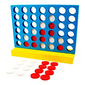 ParklandR Large EVA Connect 4 In A Row Garden Outdoor Game Childrens Kids Adult Family