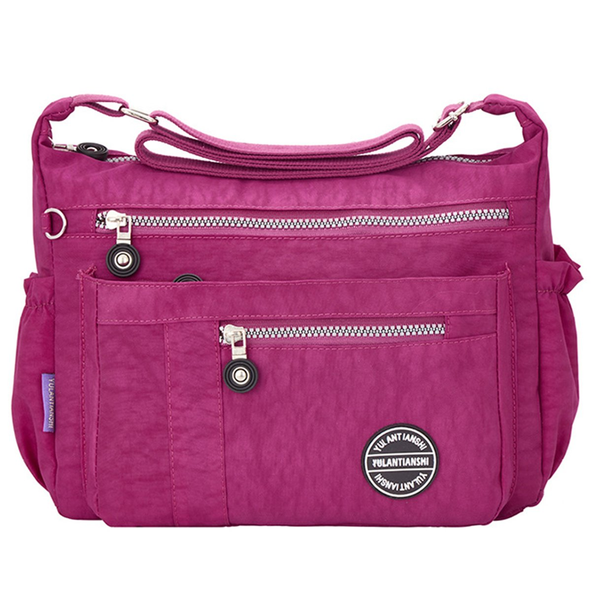JOSEKO Nylon Shoulder Crossbody Bags, Women Nylon Waterproof Large Capacity Leisure Crossbody Bag JOSEKOUSRnal1676