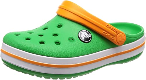 Lightweight Girls Slip On Water Shoe for Toddlers Crocs Kids Classic Graphic Clog Boys