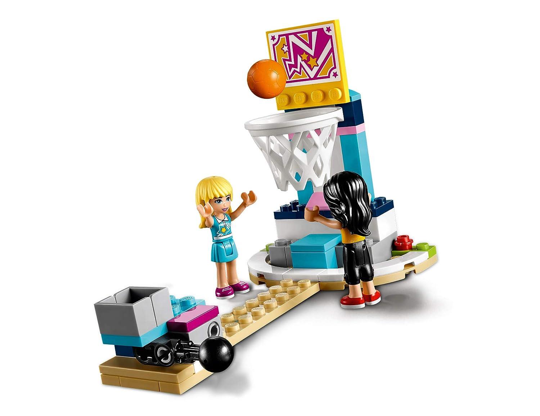 LEGO Friends - Polideportivo de Stephanie, Juguete con Mini Muñecas para Construir y Crear Aventuras para Niñas y Niños de 6 a 12 Años, Incluye ...
