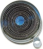 Contacto Ausstechformen, rund, gewellt Set à 14 Stück
