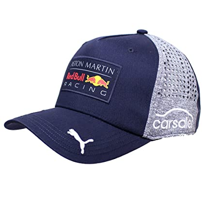 ad4348c0e21 Image Unavailable. Image not available for. Color  Red Bull Formula 1 Racing  2018 Aston Martin Daniel Ricciardo Baseball Hat