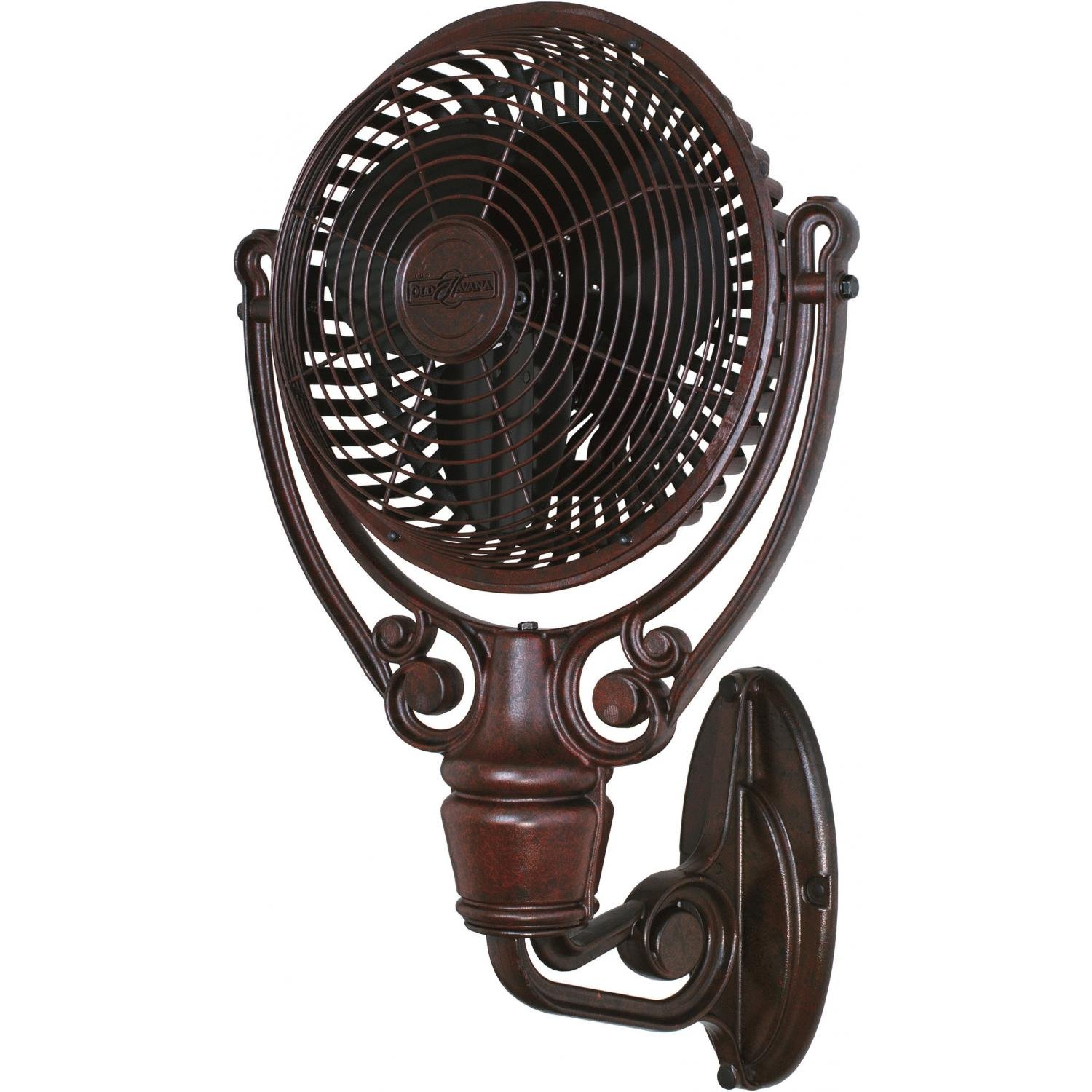 Amazon Fanimation Old Havana Outdoor Wall Mounted Fan Rust