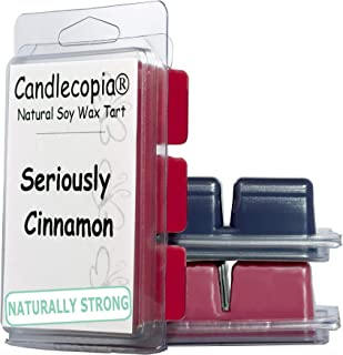 product image for Candlecopia Black Raspberry Vanilla, Black Cherry, and Seriously Cinnamon Strongly Scented Hand Poured Vegan Wax Melts, 18 Scented Wax Cubes, 9.6 Ounces in 3 x 6-Packs