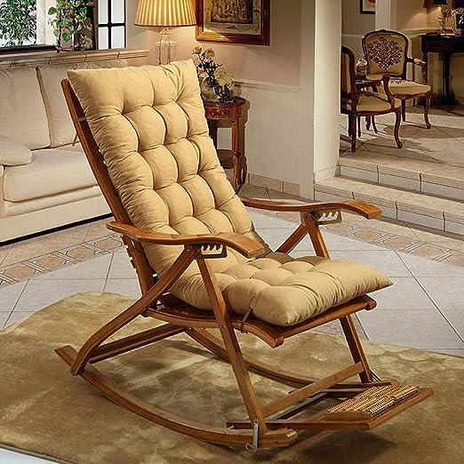SN Cojín para sillas Tumbona Almohadillas Cojines Antideslizantes Jardín Portátil Acolchado Colchoneta (Silla No Incluida) (Color : C): Amazon.es: Hogar