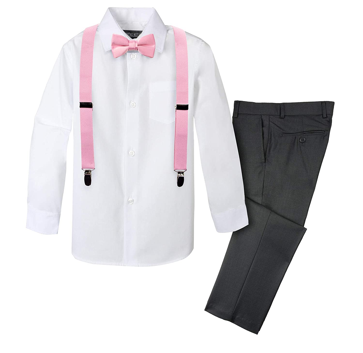 Spring Notion Boys 4-Piece Suspender Outfit