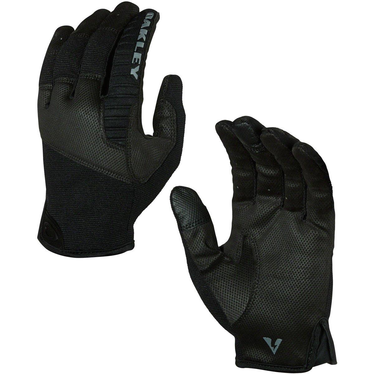 Oakley Mens Factory Lite Tactical Glove, Jet Black, Large