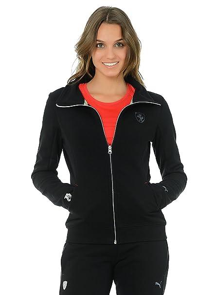 8af3e80c4a Puma Ferrari Motorsport Lifestyle Casual Womens Full Zip Track Sweat Jacket  Ladies Top