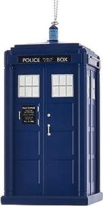 Kurt Adler Doctor Who 13th Doctor Tardis Blowmold Ornament Standard