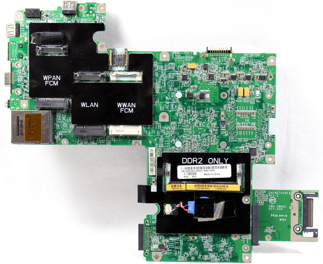 Dell Vostro 1500 Series Intel CPU Motherboard WY041 0WY041