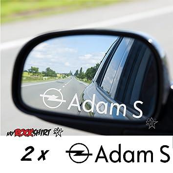 Opel Adam S 2 X Aufkleber Aus Milchglasfolie Frost