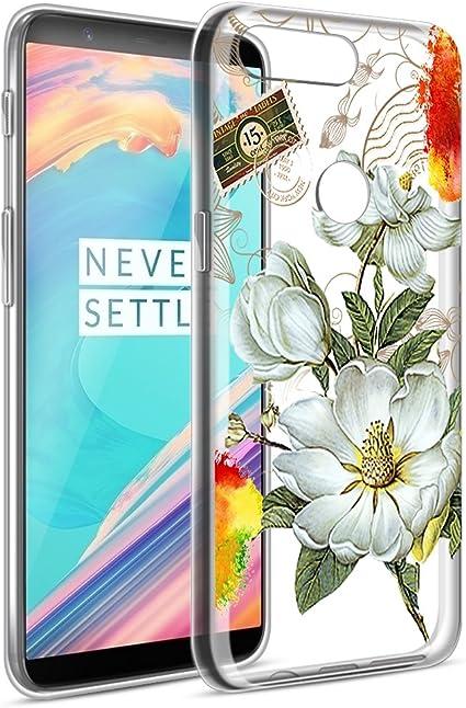 Eouine Funda OnePlus 5T, Ultra Slim Cárcasa Silicona 3D Suave TPU ...