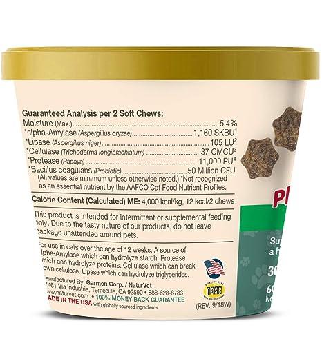 Garmon Corp naturvet Digestivo Enzimas Plus Probiotic para ...