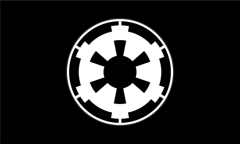 Star Wars Bandera | Imperio Galáctico Negro Paisaje | de la ...