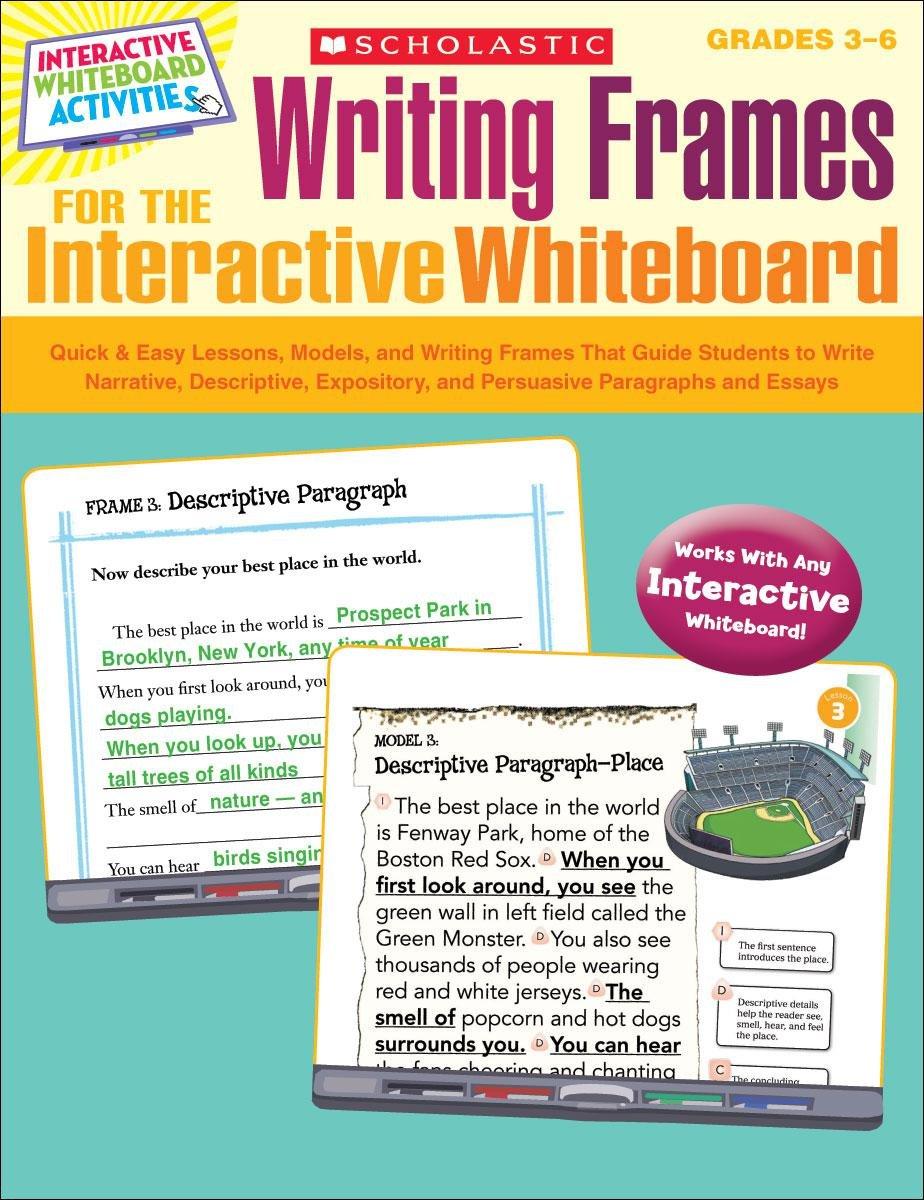 essay writing frame